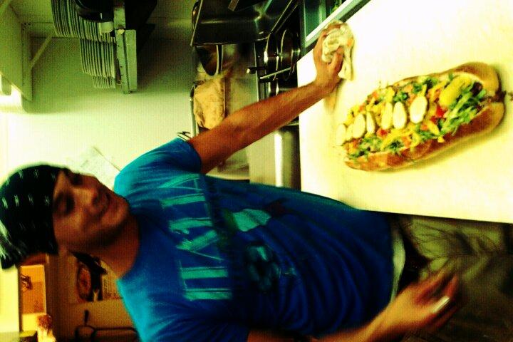 allentown,pa :: Dave made a huge loadedchzzzzzzzteak for dinner