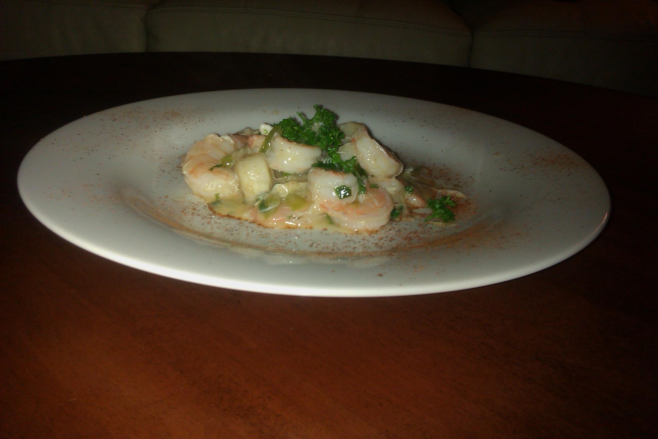 Tampa, Fl :: Culinary school homework. Seafood Etouffee