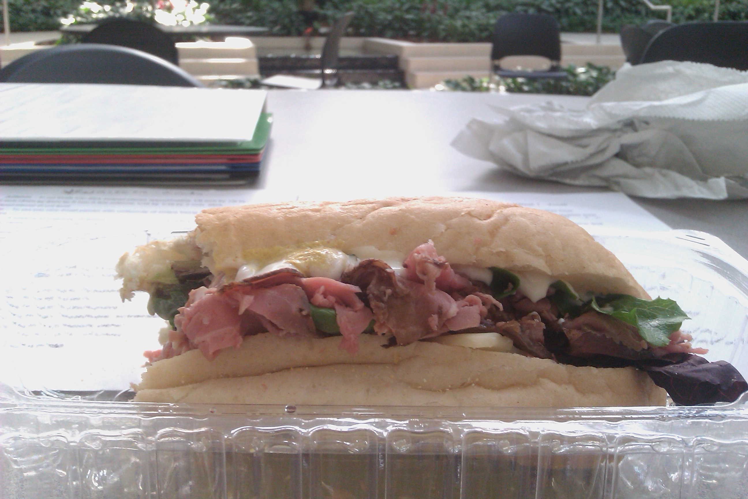 Art Institute of Tampa :: Rost beef and swiss