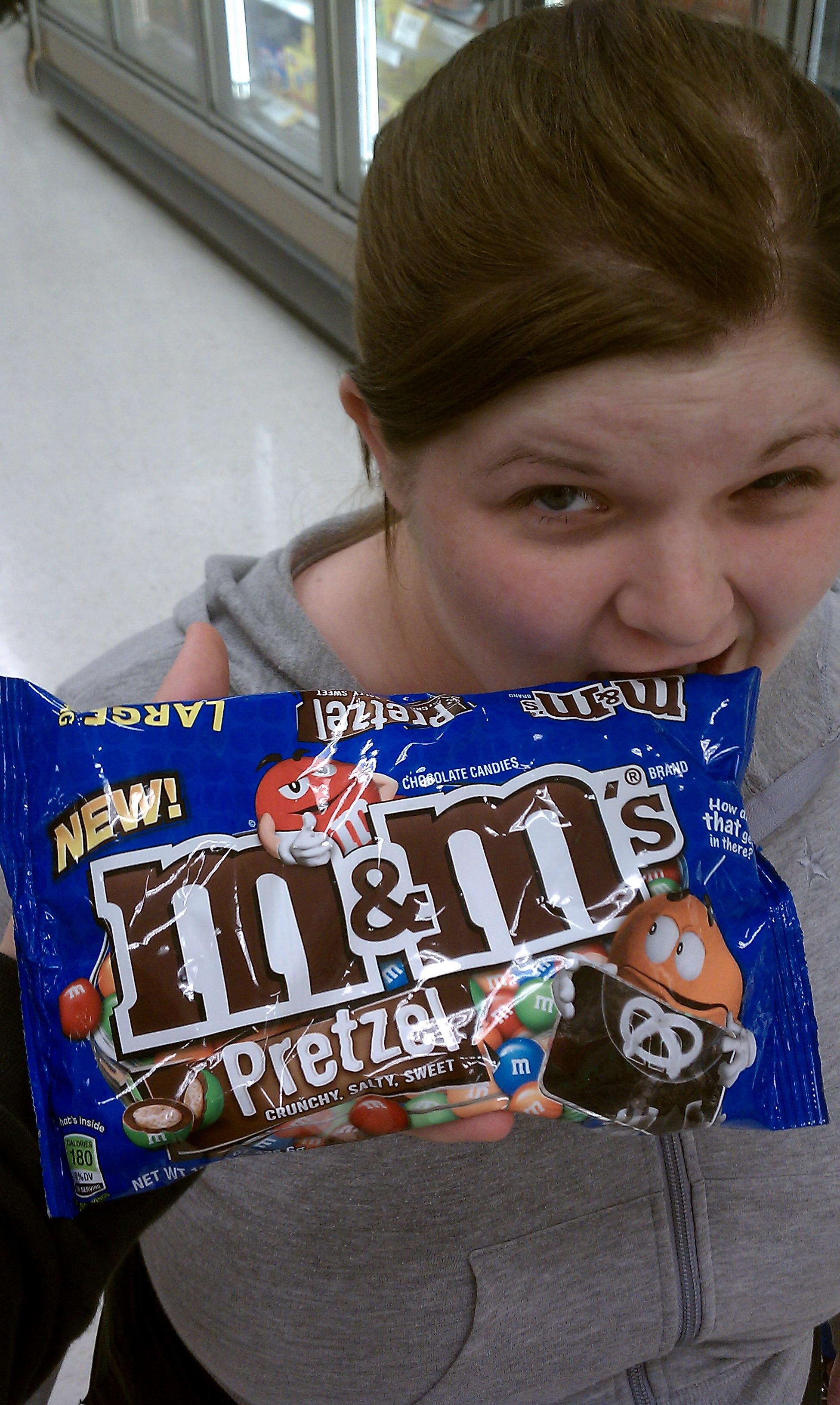 Target newington CT :: pretzel m&ms, amazing