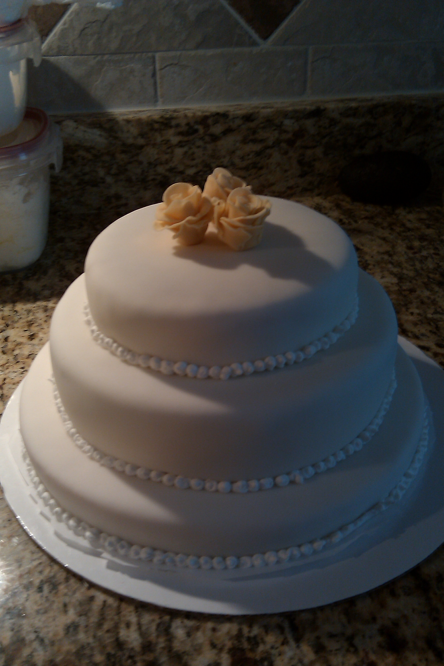 United States :: Tiered cake
