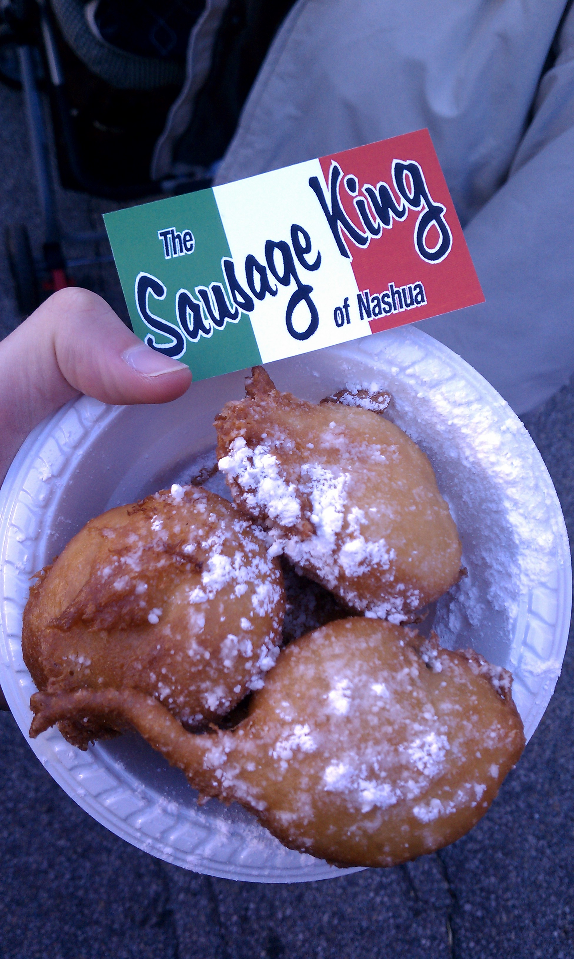Milford NH :: Deep fried oreos. they are very good!