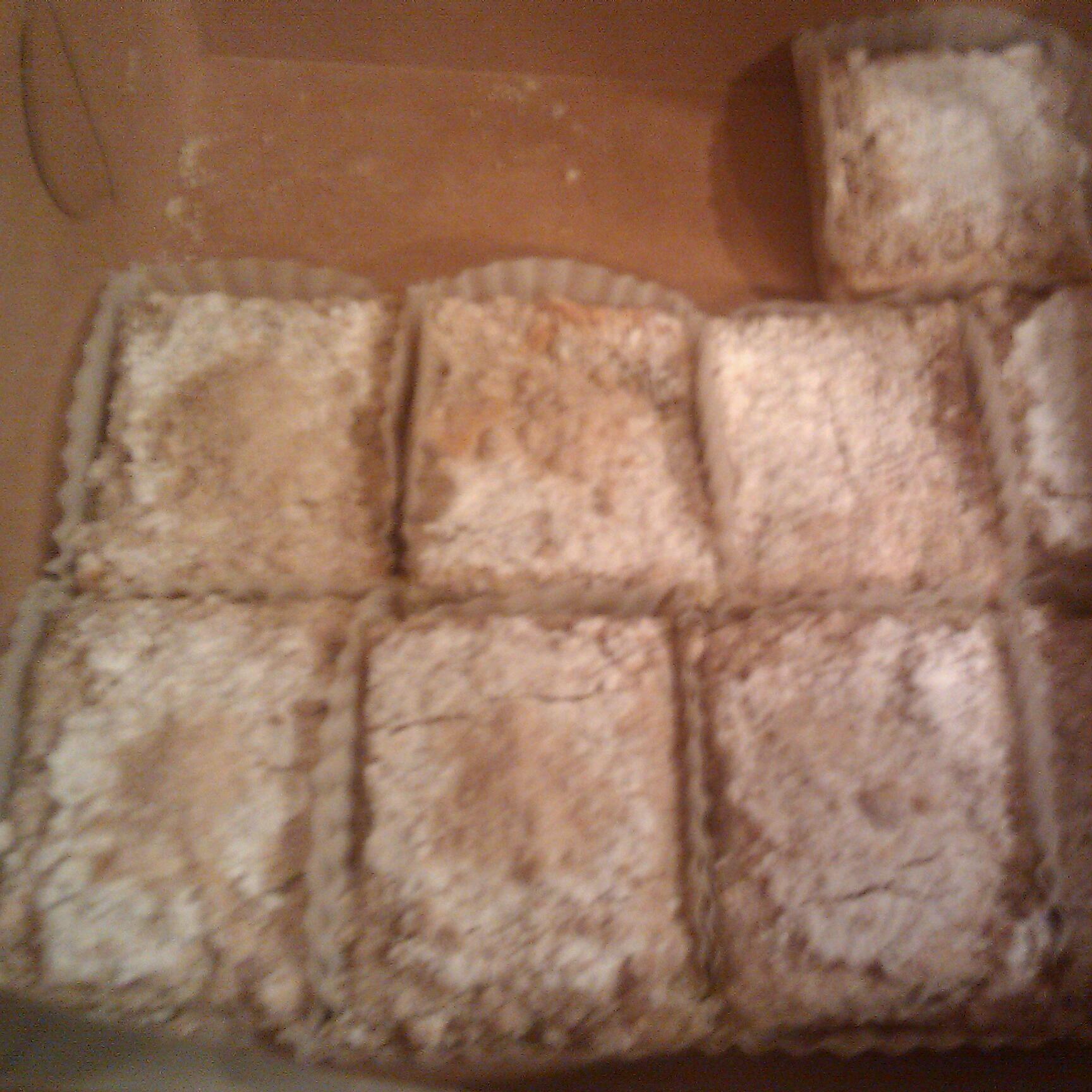 Yummy town :: lemon bars :) 12 for 10 bucks. Fresh from a bakery