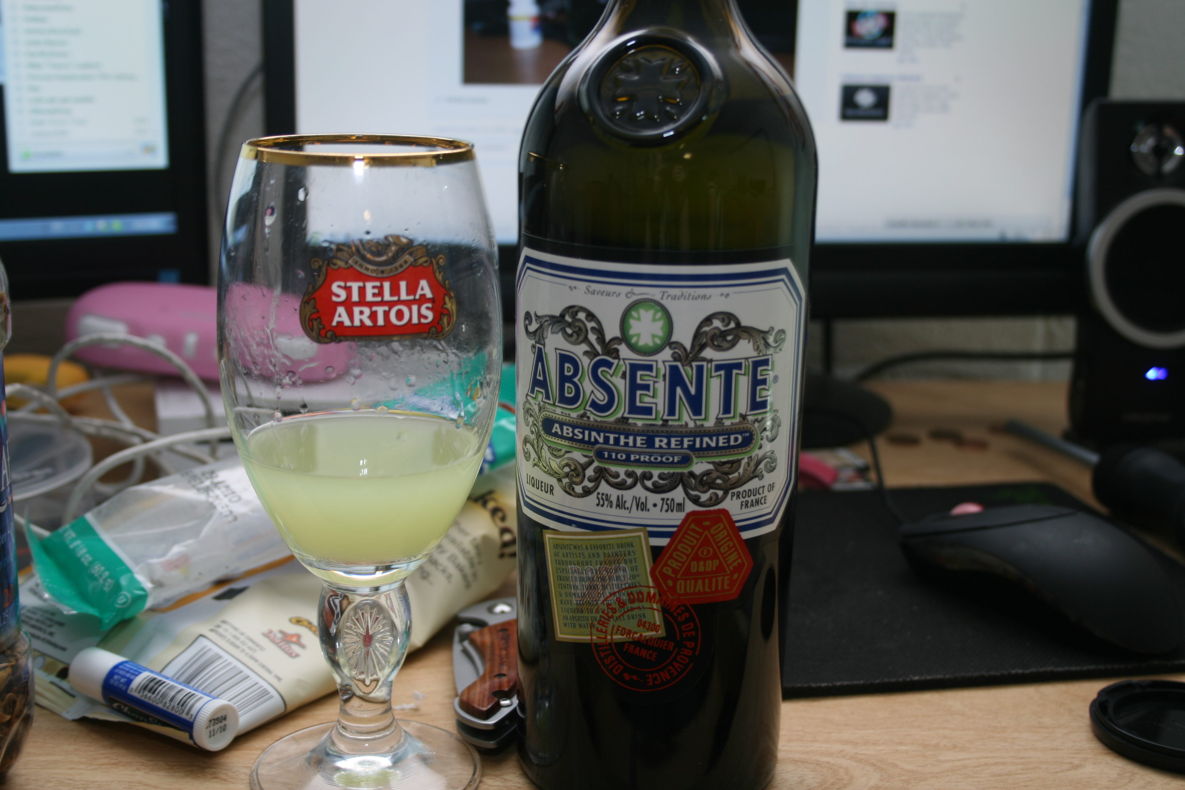 Keene, Nh :: Absinthe I went shopping for with James D!