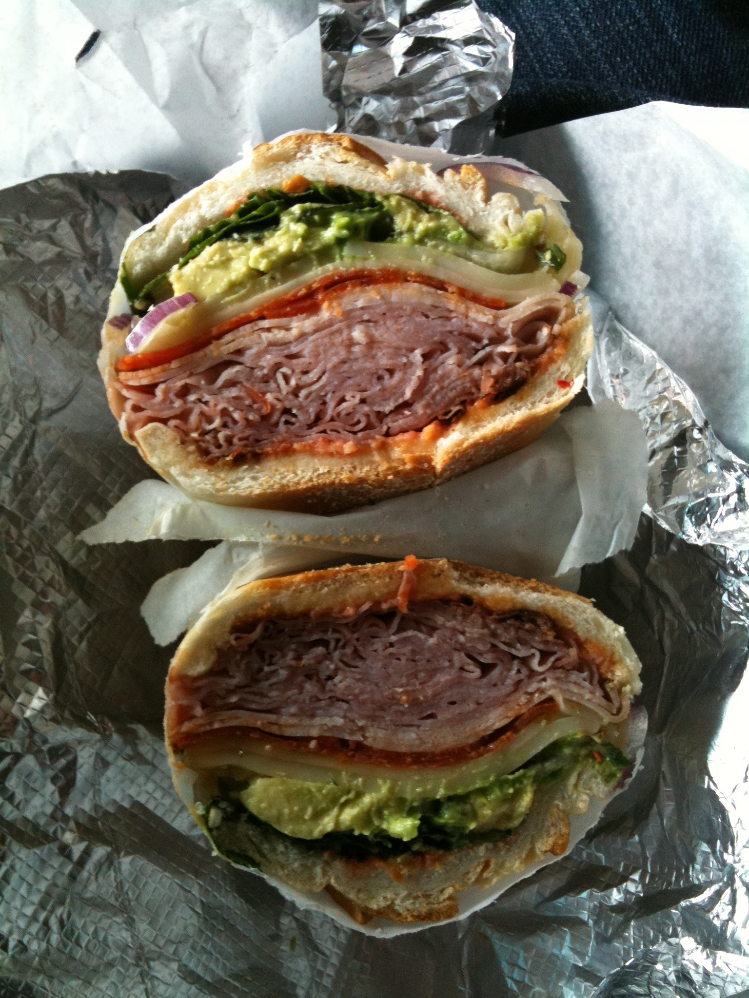 "Hana Food - 537 Metropolitan ave. Brooklyn, NY :: this sandwich was called ""Black Panther""  I like them cat sandwiches!"