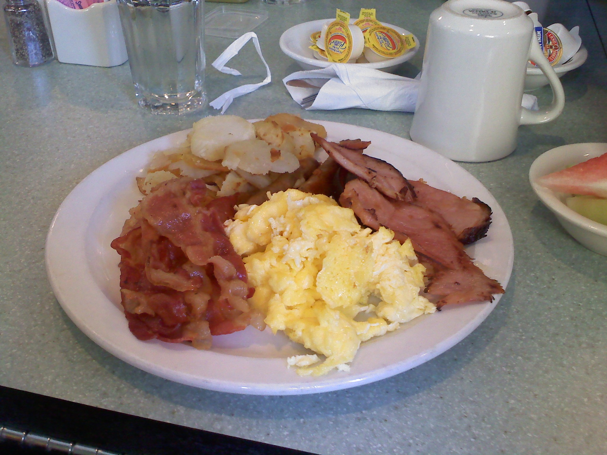 The Marriott :: Great Breakfast at a Marriott - great food.