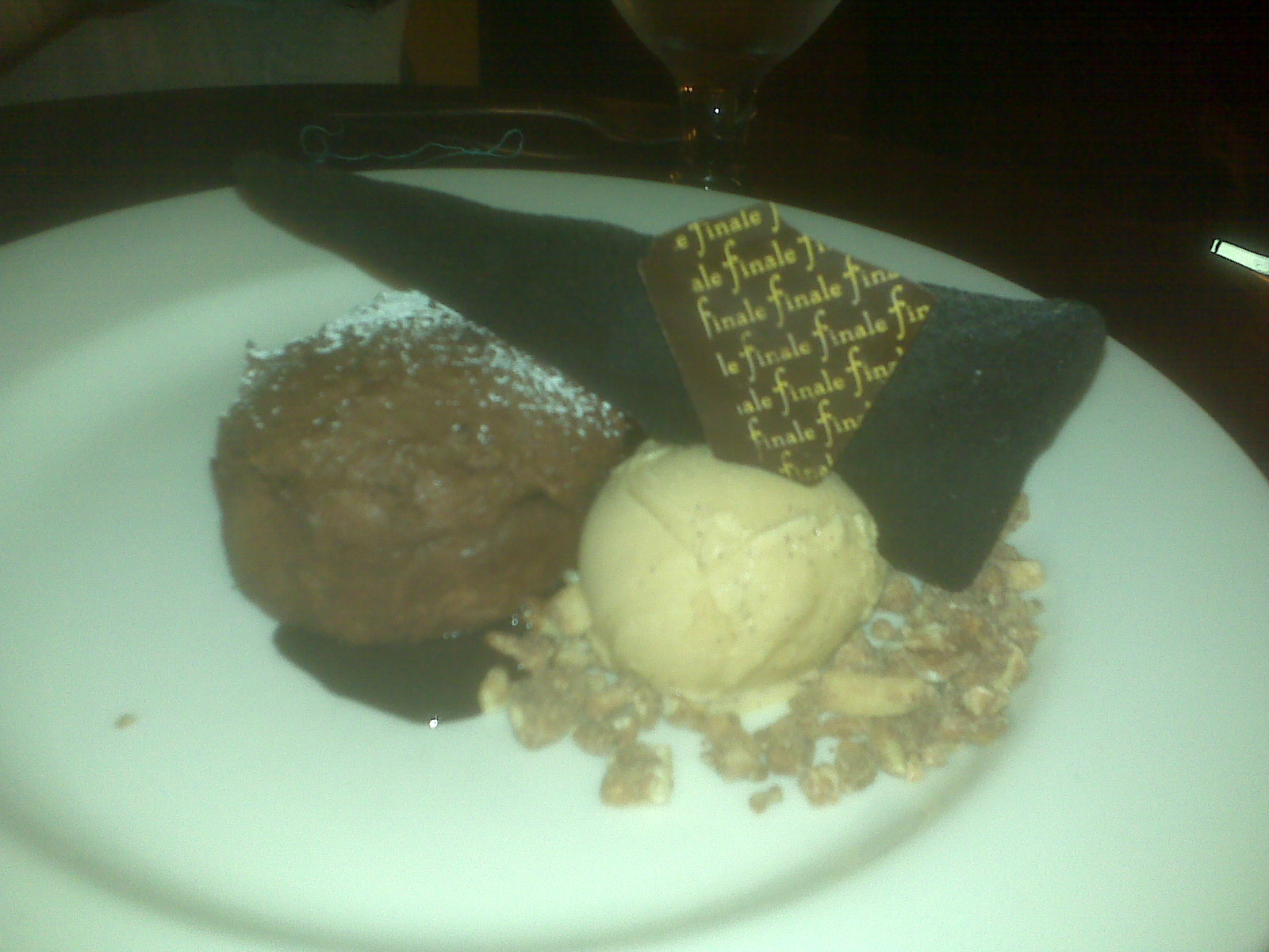 Finale- Harvard Sq Cambridge :: Chocolate Molton Cake paired with an Espresso Martini. YUM YUM YUM!!!