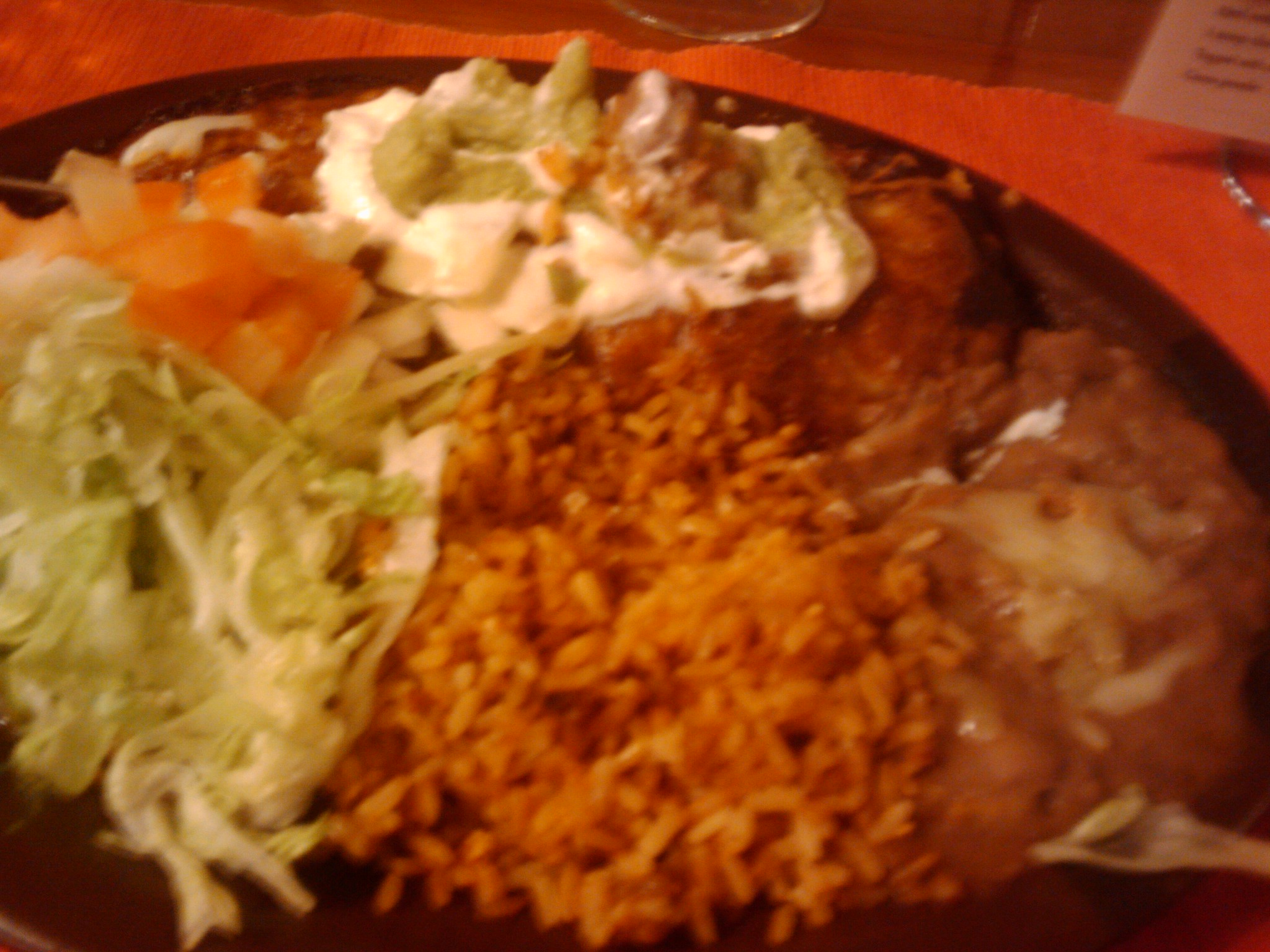 """Brisbane, Australia :: Burrito meal I had tonight at a Mexican restaurant called """"Dos Amigos"""" at Taringa.  It was quite acceptable!"""