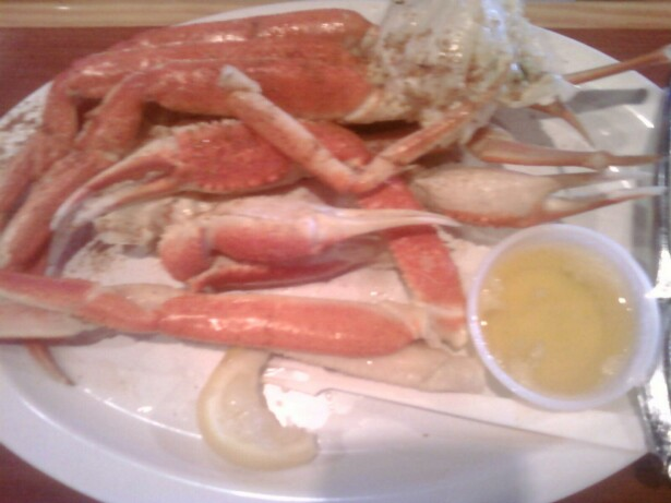 Route 1 :: Crab legs at Hooters!