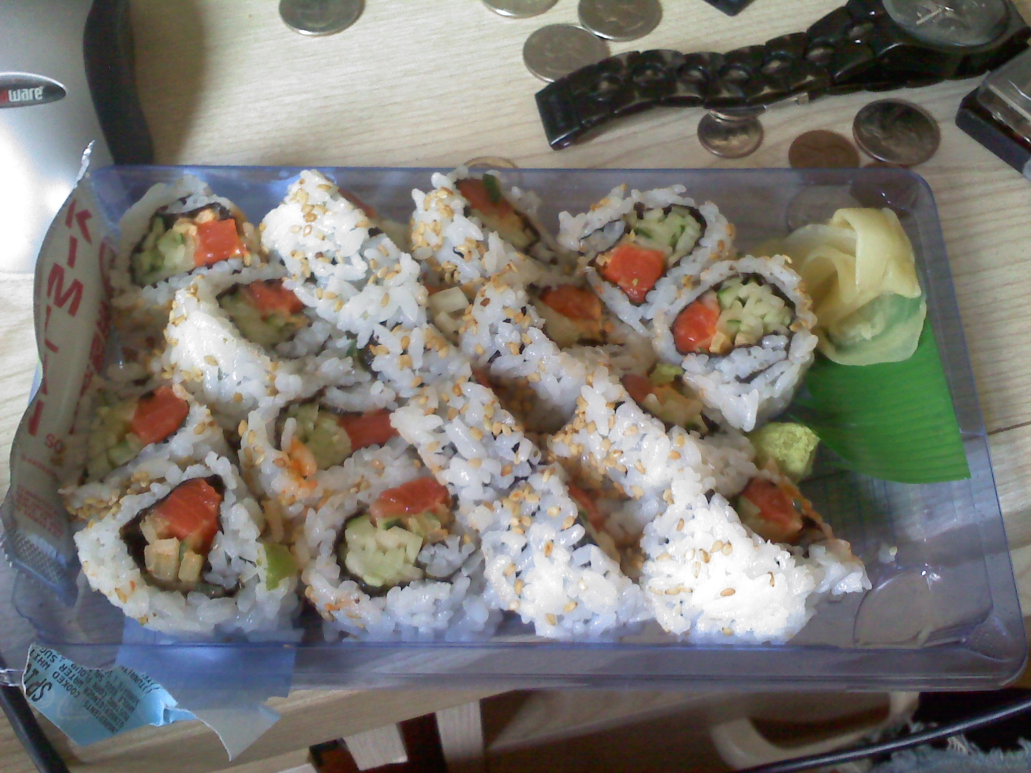 Nashua, NH :: Spicy Salmon Sushi