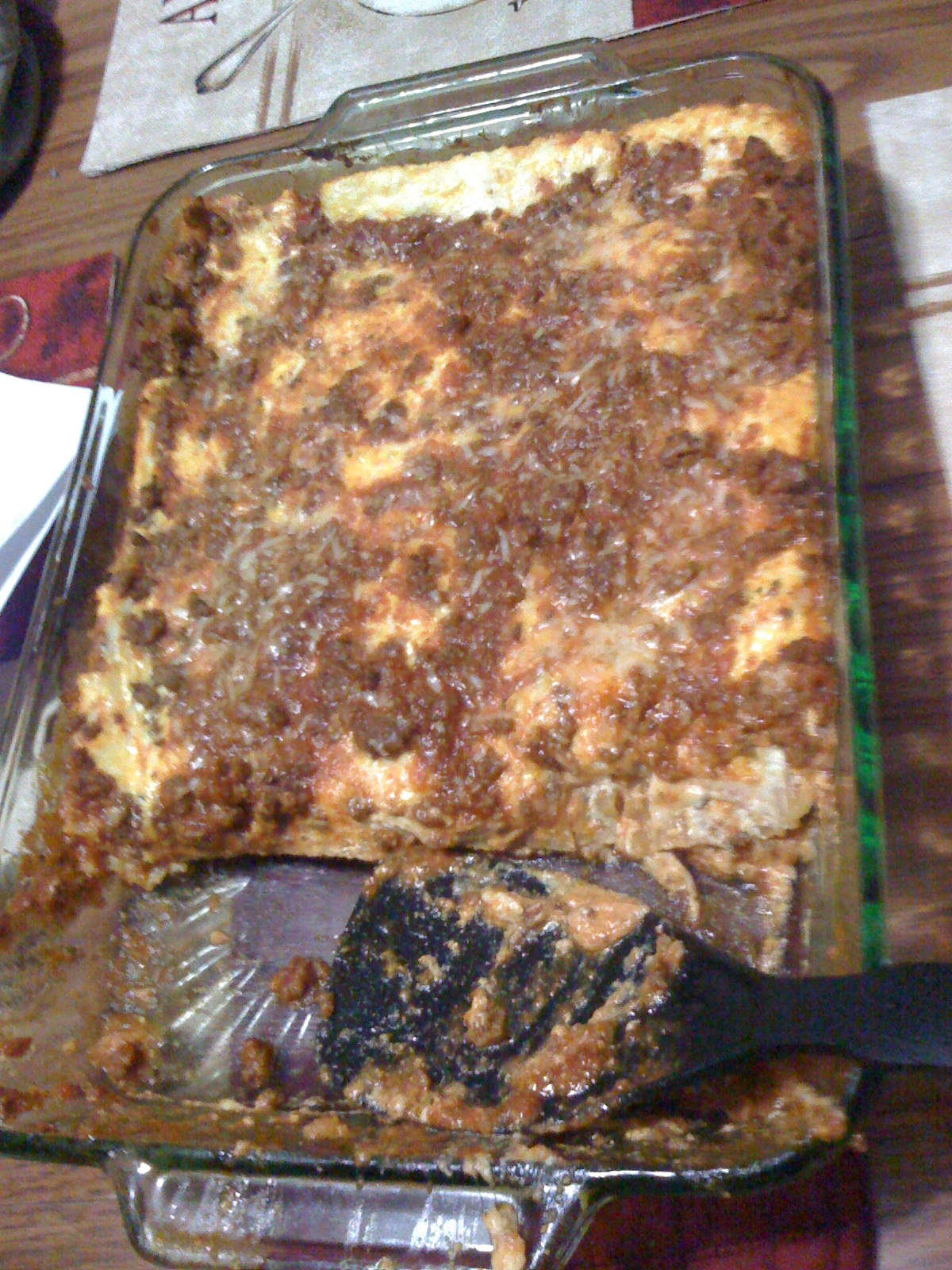 New Britain CT :: Home made lasagna