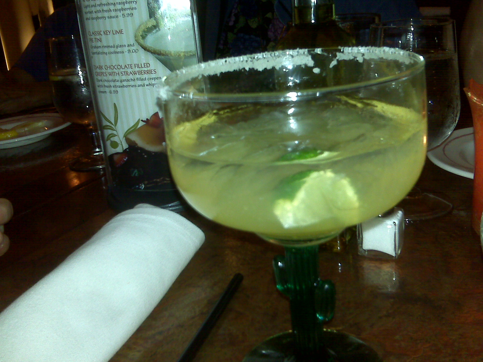 Georgio's Restaurant in Milford NH :: Classic margarita on the rocks with salt