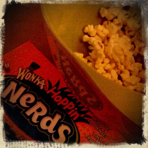 Michigan :: chick flick night popcorn and nerds!