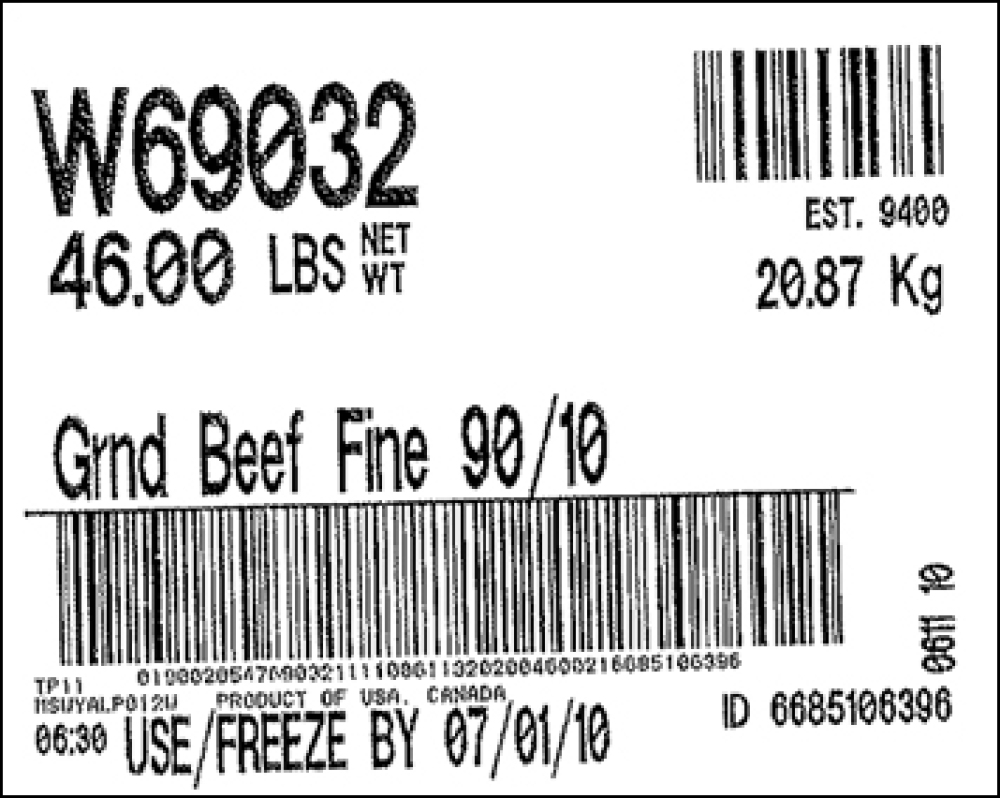 NEWS US Nationwide :: NEW NEWS: GROUND BEEF RECALL: some areas included are - The recalled meat was processed at Cargill Meat Solutions in Wyalusing, Pennsylvania. BJ's Wholesale Club stores in Connecticut, Maine, Maryland, Massachusetts, New Hampshire, New Jersey, New York and Virginia are believed to have received the products. Check the link for further info guys!!!  (another link to check out for other current recalls is http://www.fsis.usda.gov/fsis_recalls/ )