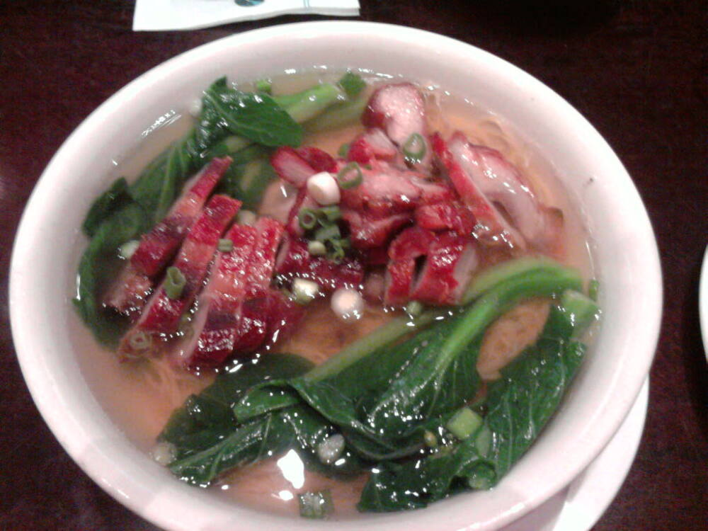 eastern ct :: chinese bbq pork noodle soup