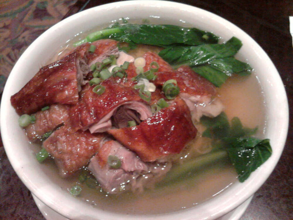 eastern ct :: chinese roast duck noodle soup