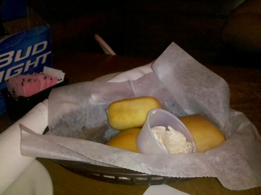 texas roadhouse :: rolls with cinnamon butter