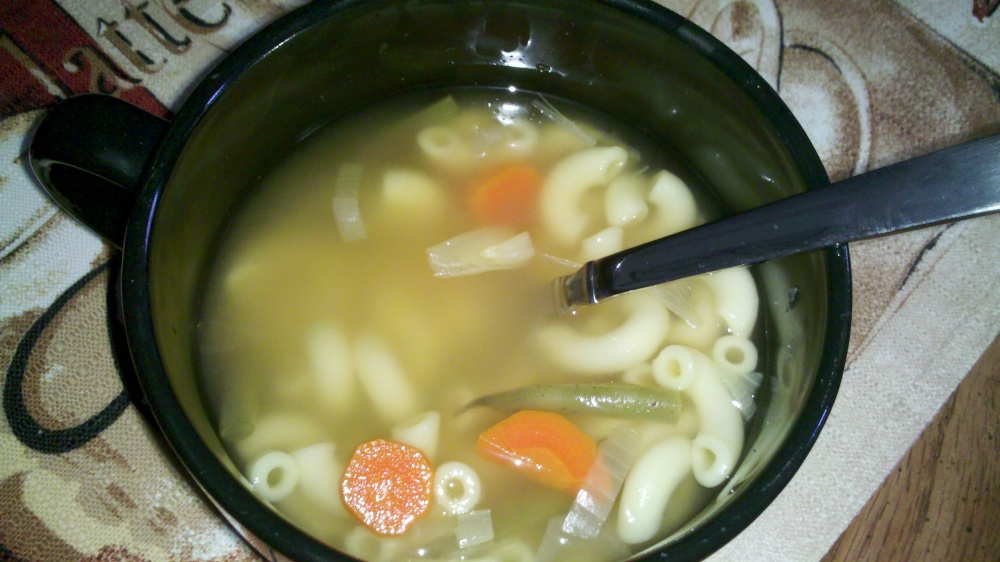 new britain ct :: clean out the fridge soup