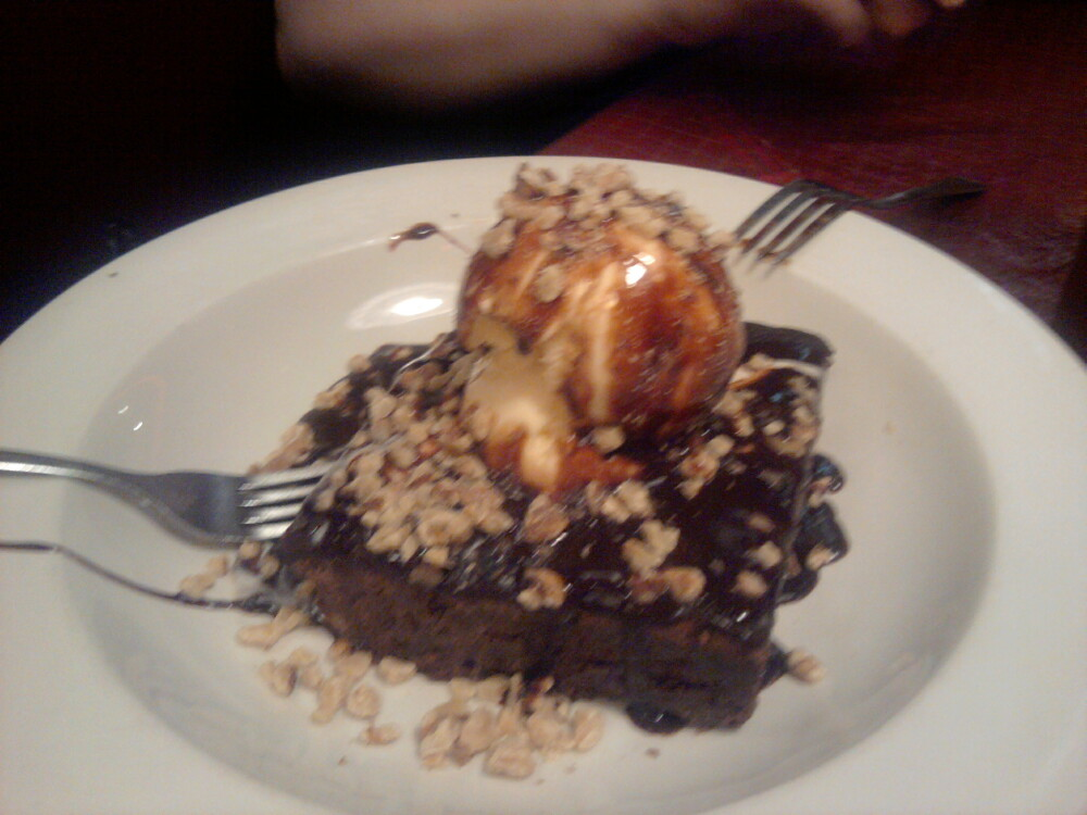 La Joya  :: Brownie & icecream