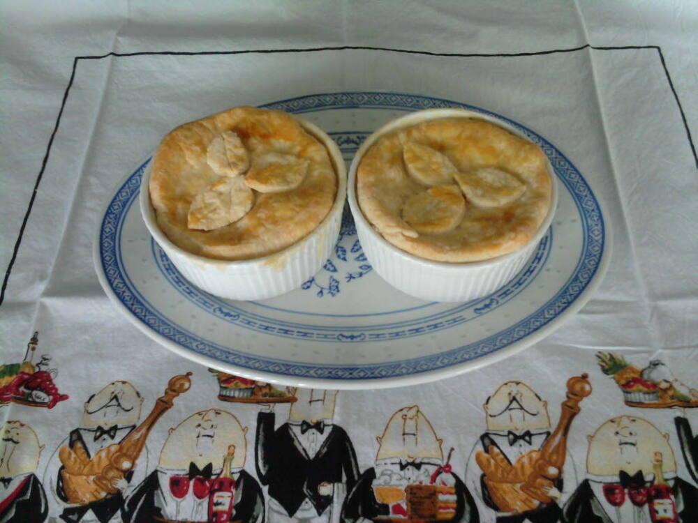 eastern ct  :: homemade chicken pot pie.