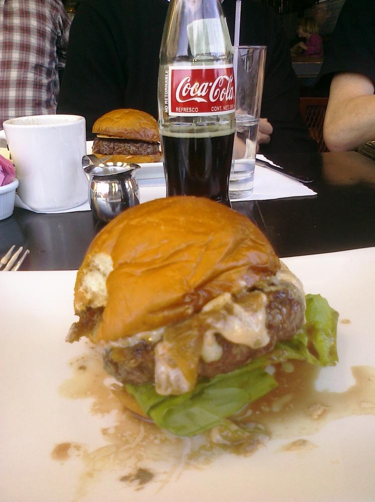 LA :: umami burger!! and a coke!