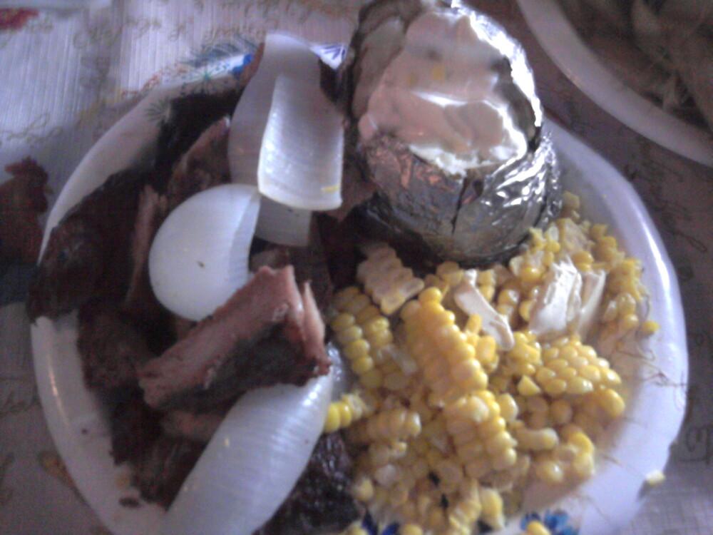 Kentucky :: steak corn and potatoes