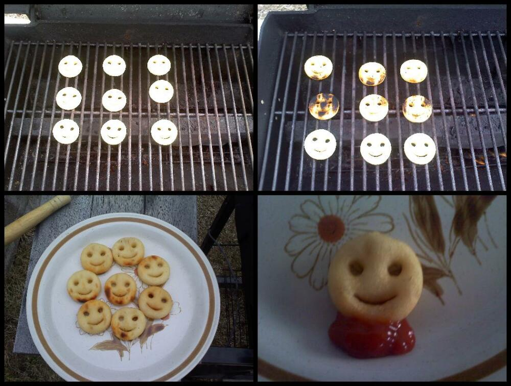 Nashua, NH :: Grilled Potato Smiles!