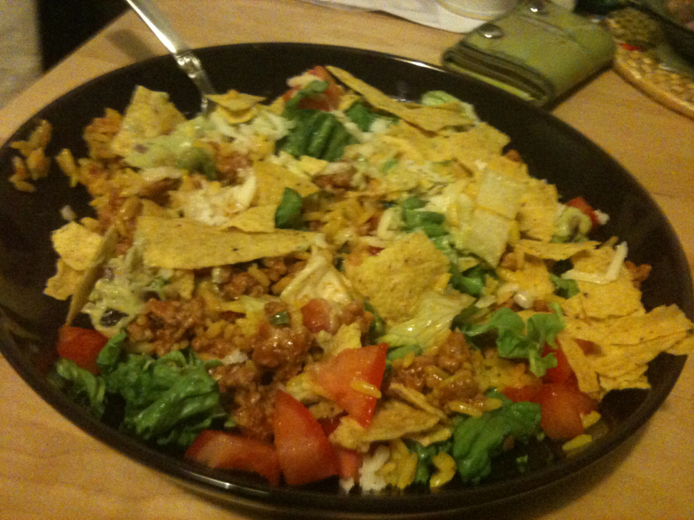 Brooklyn :: Taco Salad!