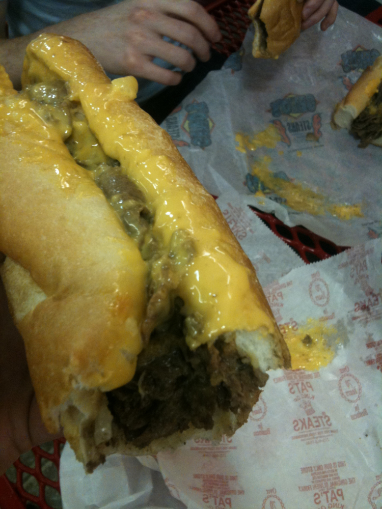 Philadelphia :: Pats Cheese steak!