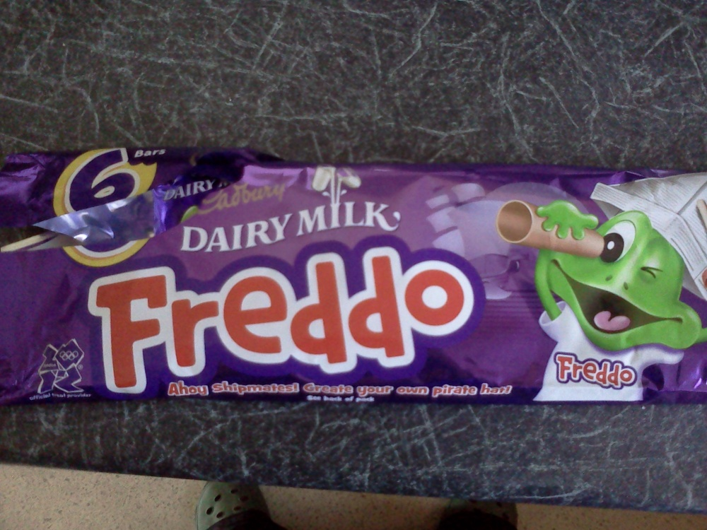 home :: mmmm choc freddos wish they still did taz's