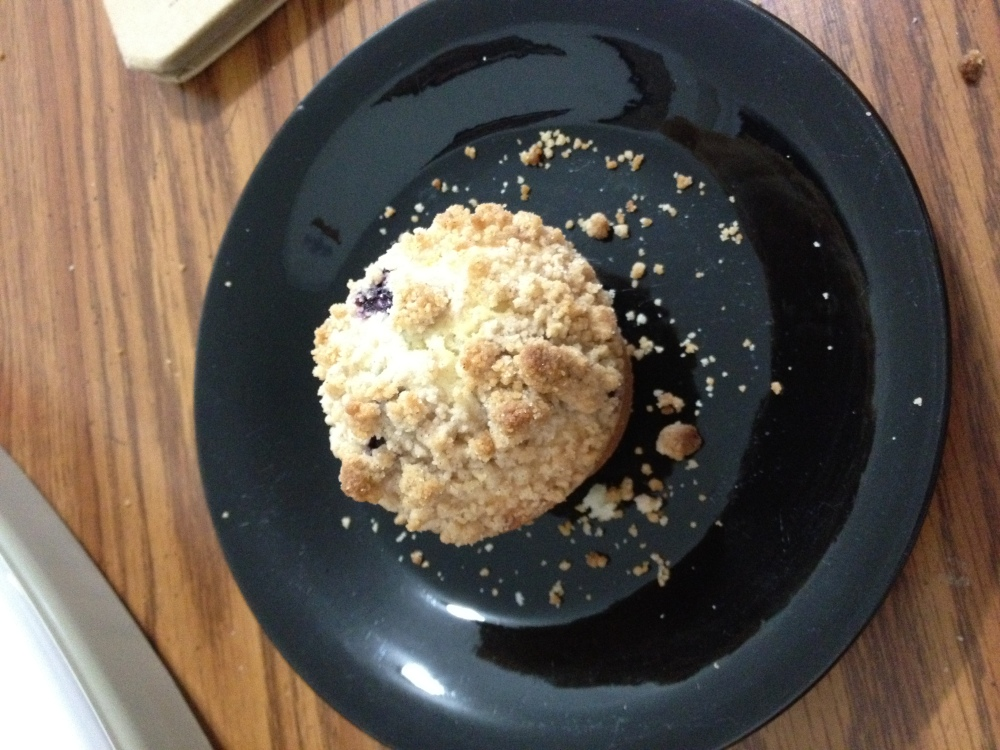 New Britain CT :: Blueberry muffins for breakfast