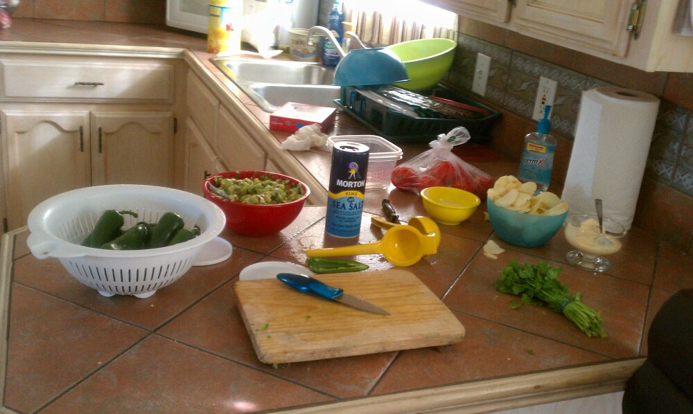 La Joya TX. :: cooking at my kitchen