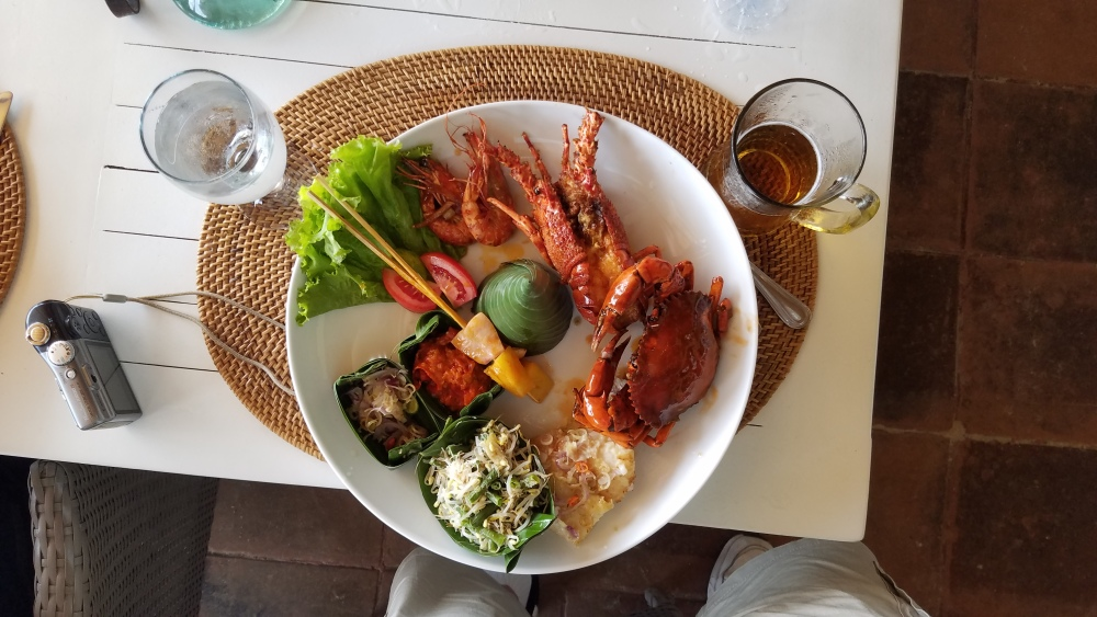 Bali. Indonesia :: Variety of seafood.