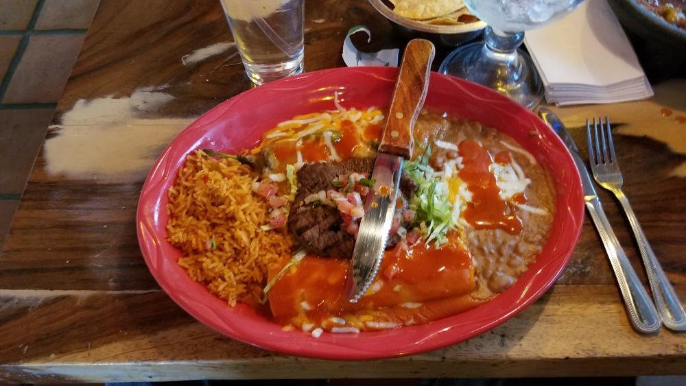 Guadalajara Grill, Tucson, AZ :: Pancho Villa Platter